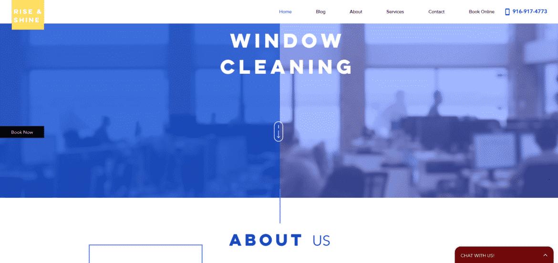 service relayed website creation